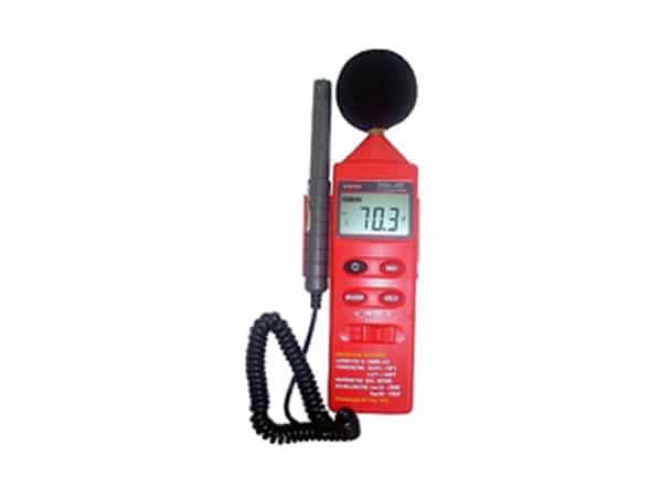 Termo-Higro-Decibelímetro-Luxímetro