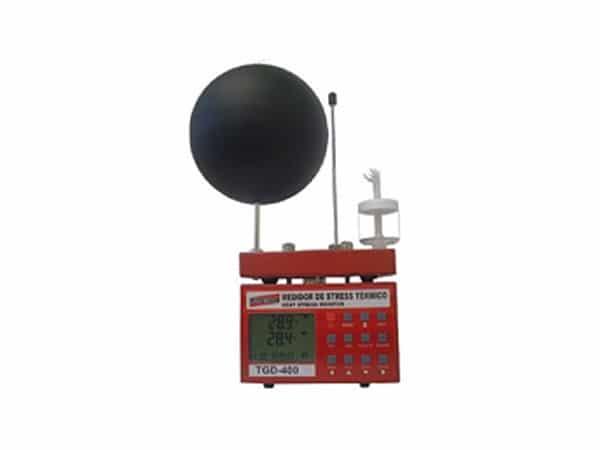 Medidor de Stress Térmico Digital Portátil com RS-232 e Data Logger