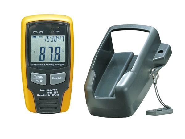 Datalogger de Umidade e Temperatura com Display