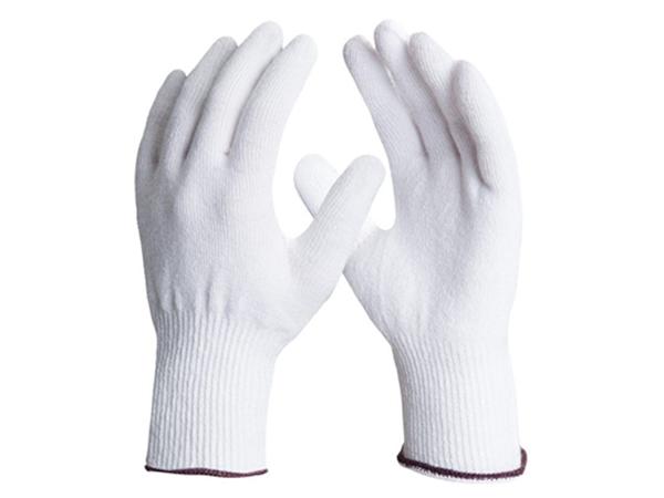 Luva de segurança confeccionada em PVC com forro de algodão felpudo