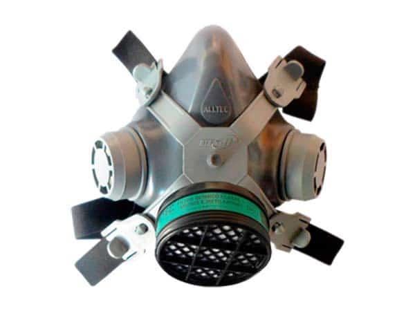 Respirador ¼ facial com manutenção