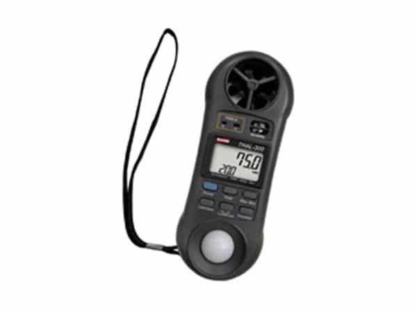 Termo-Higro-Anemômetro Luxímetro Digital