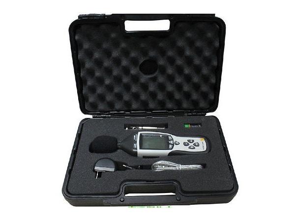 Decibelímetro Digital com Data Logger e USB