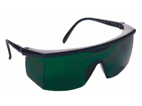 Óculos de segurança com lente em policarbonato verde ou cinza