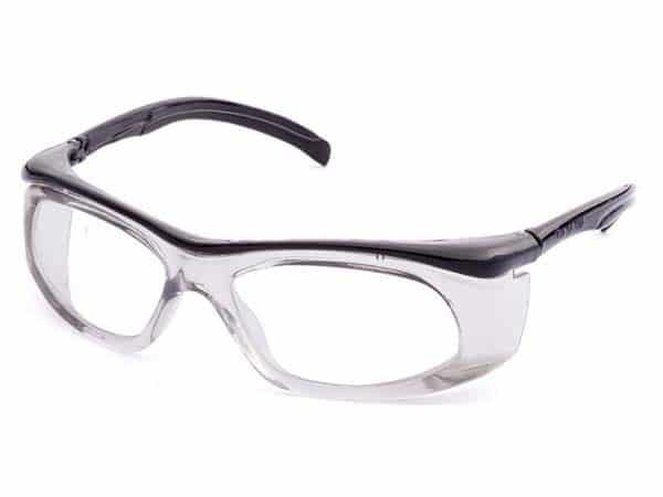 Óculos de segurança confeccionado em termoplástico